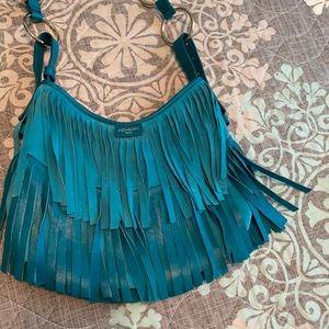 Beautiful fringe purse by Yves Saint Laurent